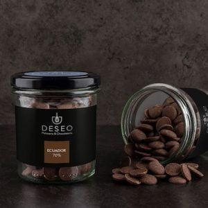 Kaletki czekoladowe Ecuador 70%