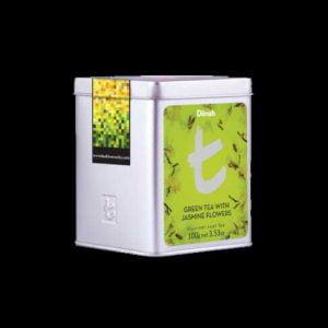 Dilmah Green Tea With Jasmine Flowers t-Series
