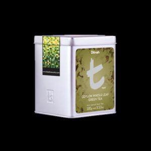 Dilmah Ceylon Whole Leaf Green Tea t-Series