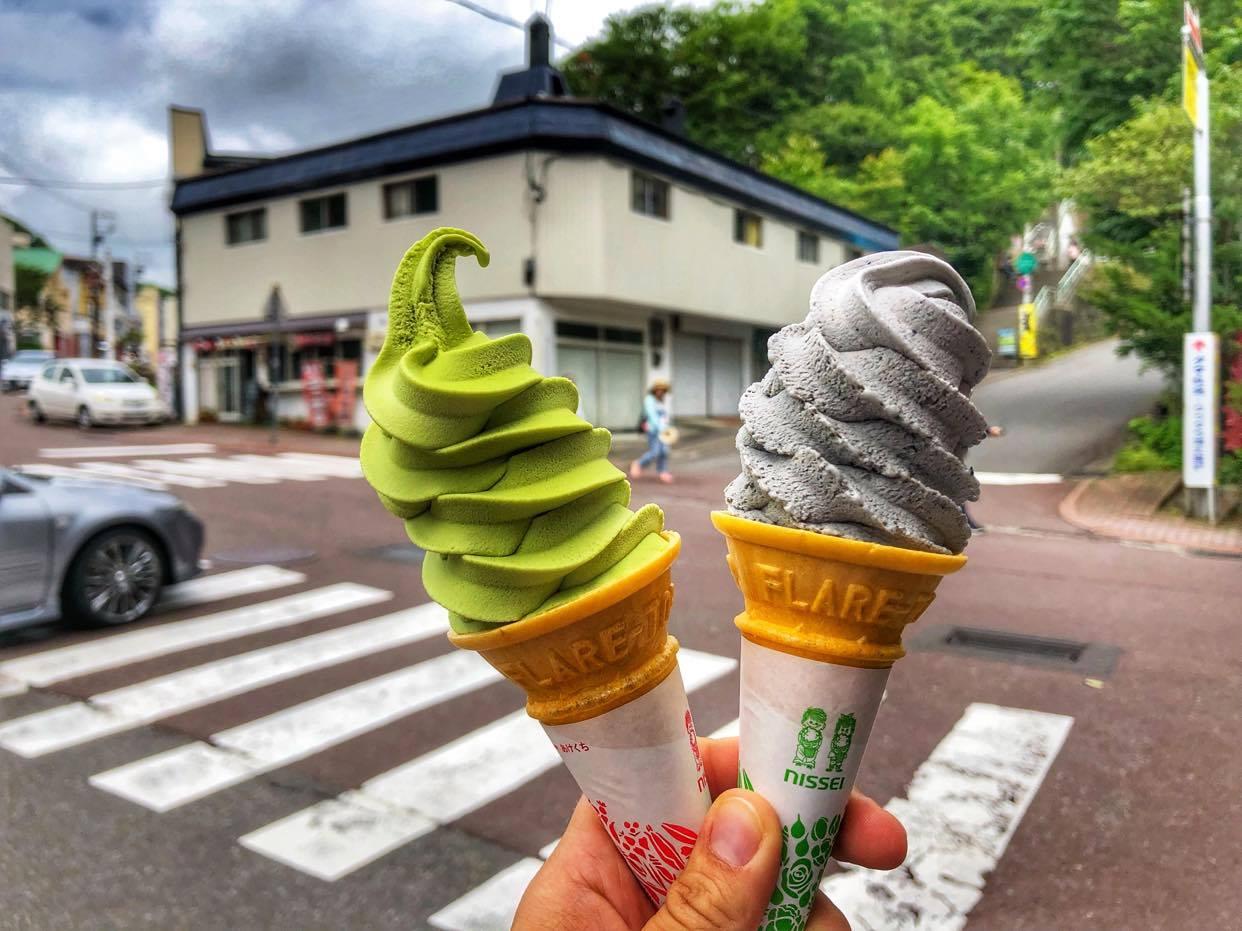Mała podróż na Hokkaido – spróbuj lodów czarny sezam!