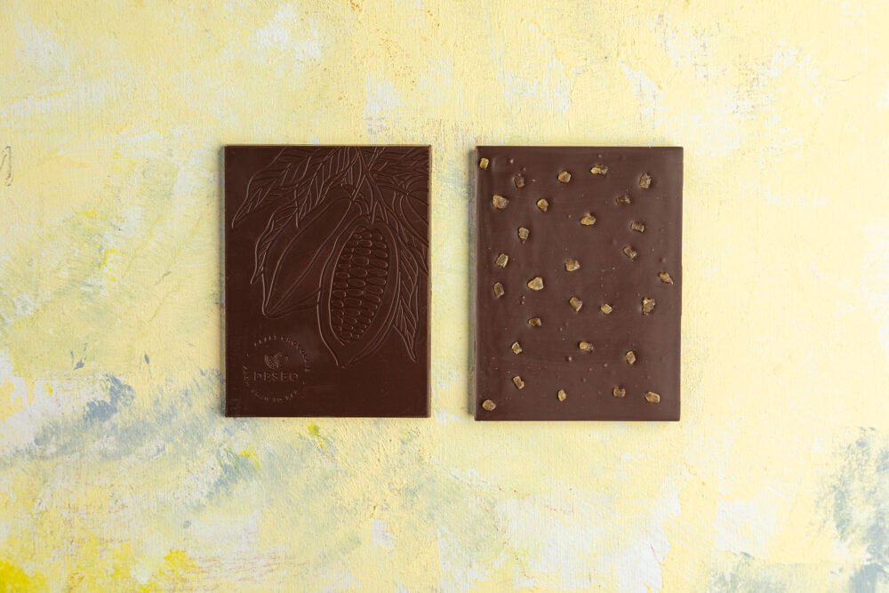 czekolada z kandyzowanym imbirem