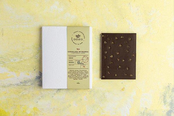 czekolada Indie wytrawnaz imbirem kandyzowanym