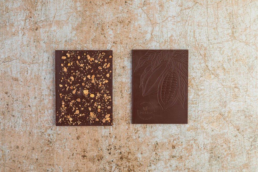 czekolada migdały i cynamon