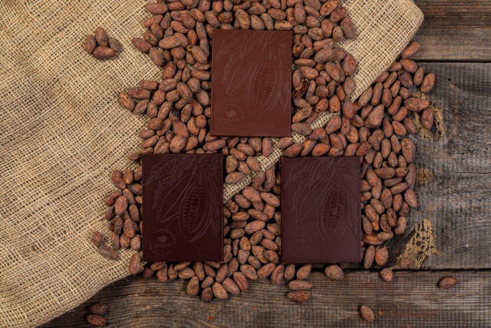 zestaw 3 czekolad bez inkluzji 1