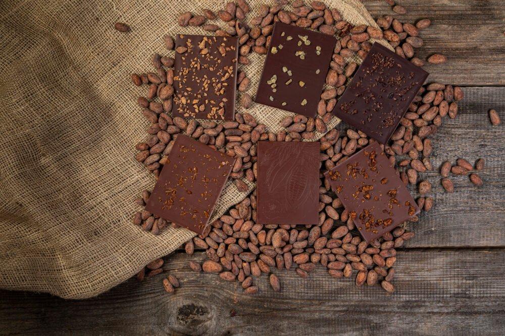 zestaw 5 czekolad z inkluzją1