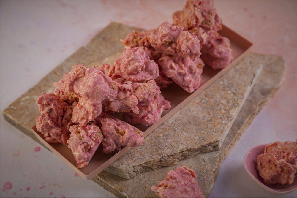 chocolate clusters_czekolada malinowa_1