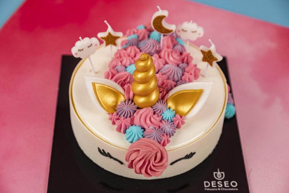 Tort urodzinowy Jednorożec_4