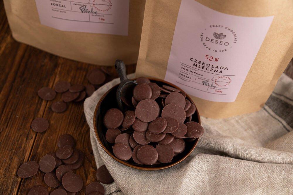 Dropsy czekoladowe Dominikana 52%_2