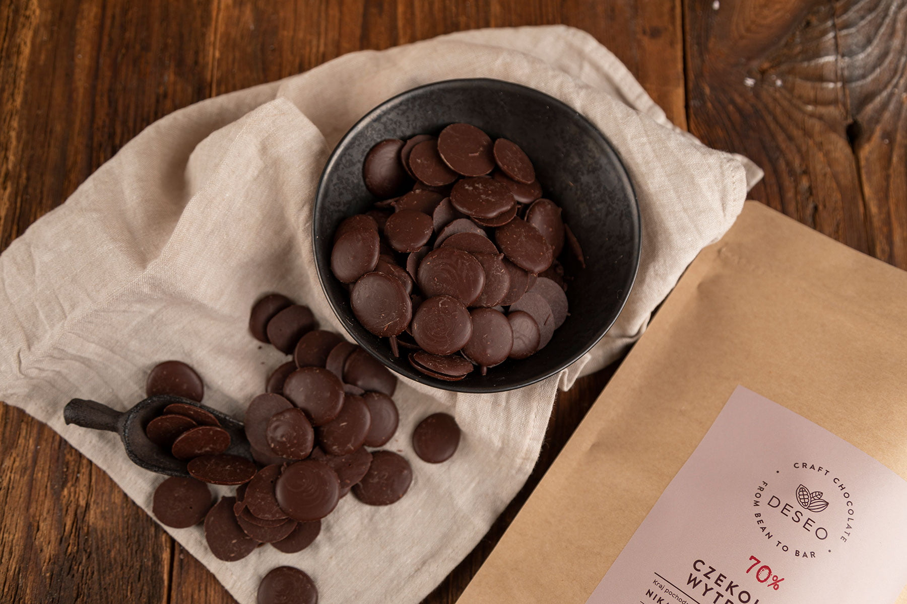 Dropsy czekoladowe w dużych opakowaniach już dostępne!