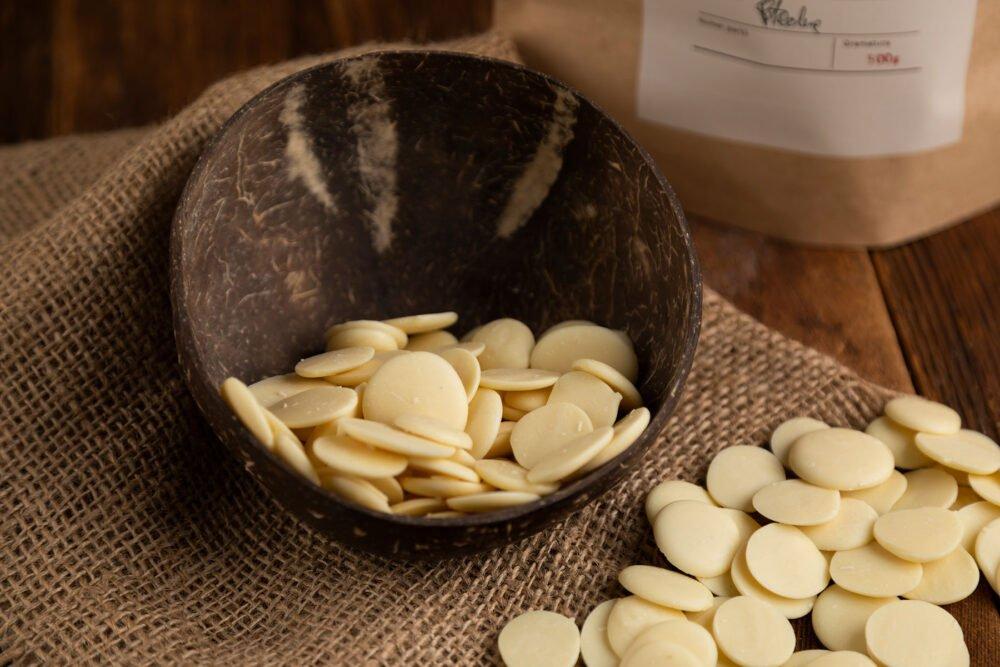 Dropsy czekoladowe biała czekolada 1 kg_1